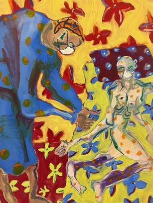 It's All One Big Blur, 60x45cm, oil on canvas