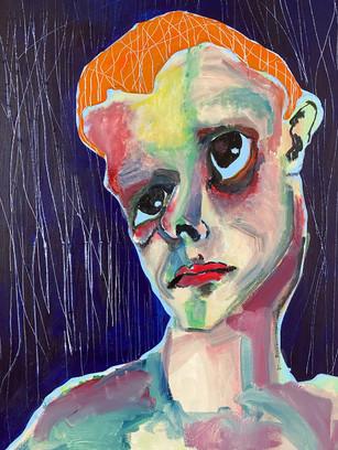 El Greco Who?, 60 cm x 45 cm, acrylic and gouache on canvas