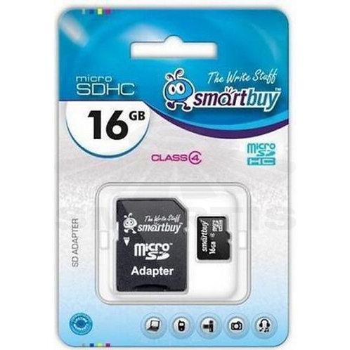 MicroSD SmartBuy Class10 16 гб