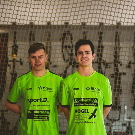 2. Platz im Halbfinale im Radball - Schweizer Cup