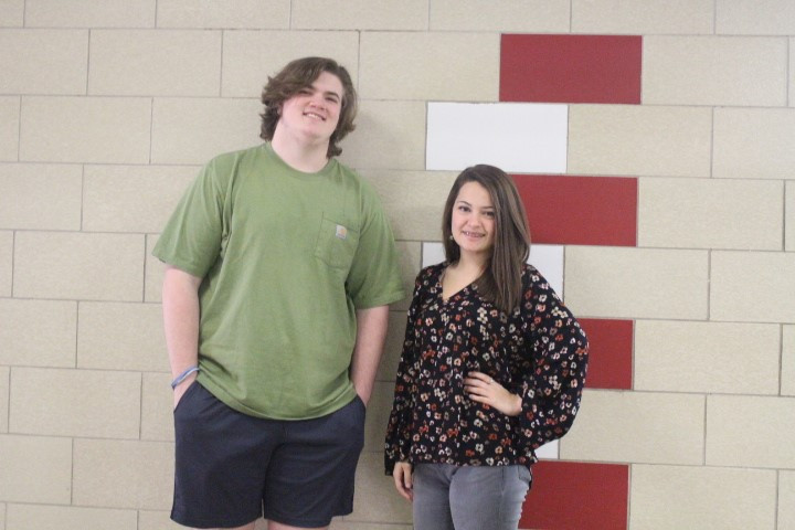 Congratulations to Logan Davis and Chloe Bolling for receiving this year's Most Talented superlative.