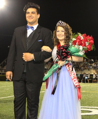 West High student Chloe Bolling after being crowned Homecoming Queen.