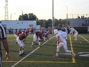 West Varsity Football Faces Upsetting Defeat Against William Blount