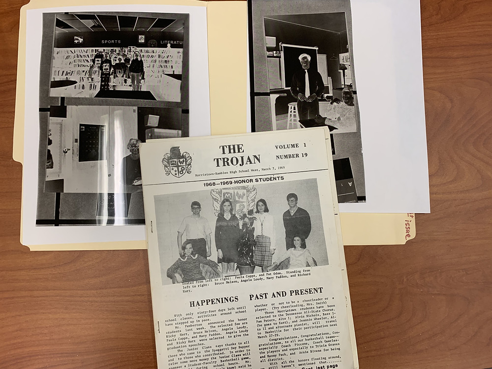 This is the oldest article in our archive, it also has examples of stencils that they used.