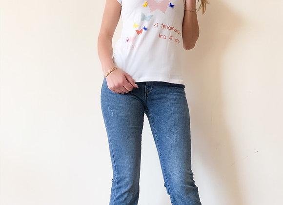 T shirt farfalle
