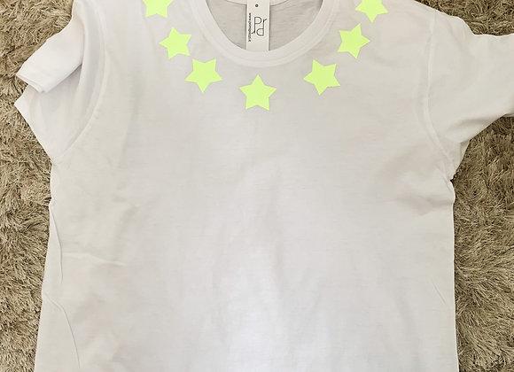 T shirt collana stars