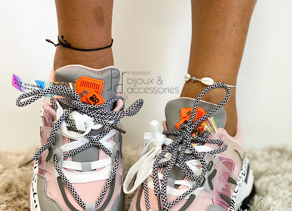 Sneakers Leopard pink