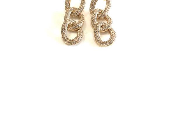 Orecchini chain luxury piccolo