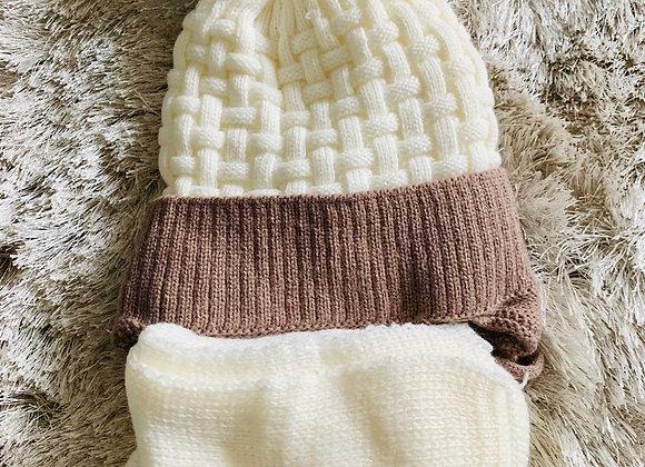 Cappello e sciarpa  PON PON