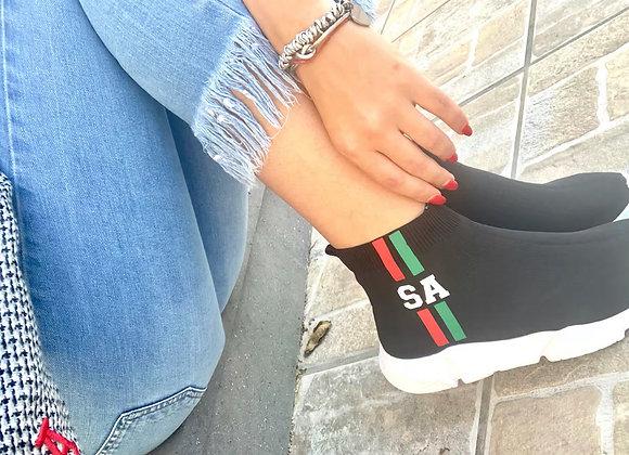 Sneakers in maglia personalizzabile