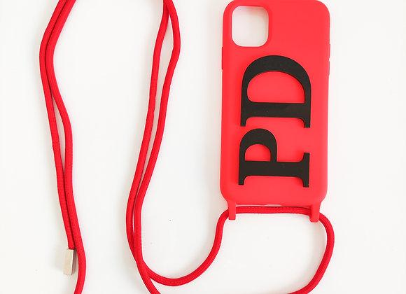 Cover iPhone con laccio regolabile