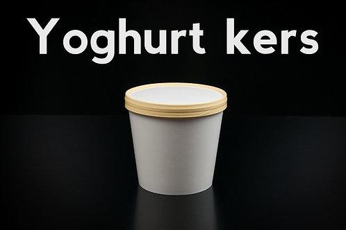 Yoghurt kers | 1 liter ambachtelijk ijs (emmertje)