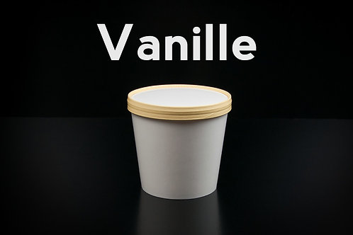 Vanille | 1 liter ambachtelijk ijs (emmertje)