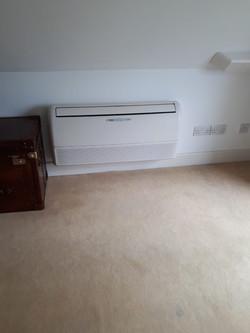 Domestic air con unit