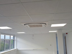 Air con unit in an office