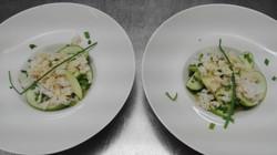 Salade fraîcheur pommes et crabes