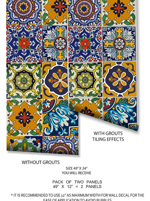 40% discount - Tabasco panel with grouts - 2 pcs