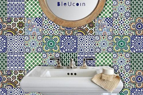40% discount -Moroccan 15cm x 15cm - Matt - 40 pcs