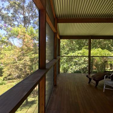 Undercover outdoor screened room