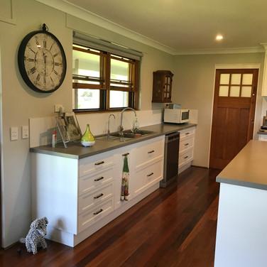 Timber Floors & Recycled Door