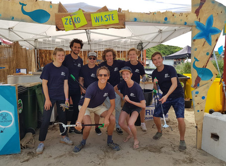 SEAVENTS diverts 97% of waste at Surfana Festival 2018