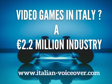 Video Games in Italy: the market exceeds 2.2 millions euro