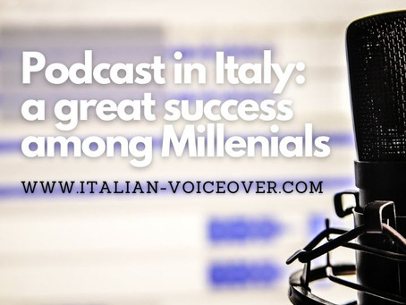 Podcast in Italy: a great success among millennials