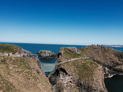 Carrick-a-Rede rope bridge- Belfast