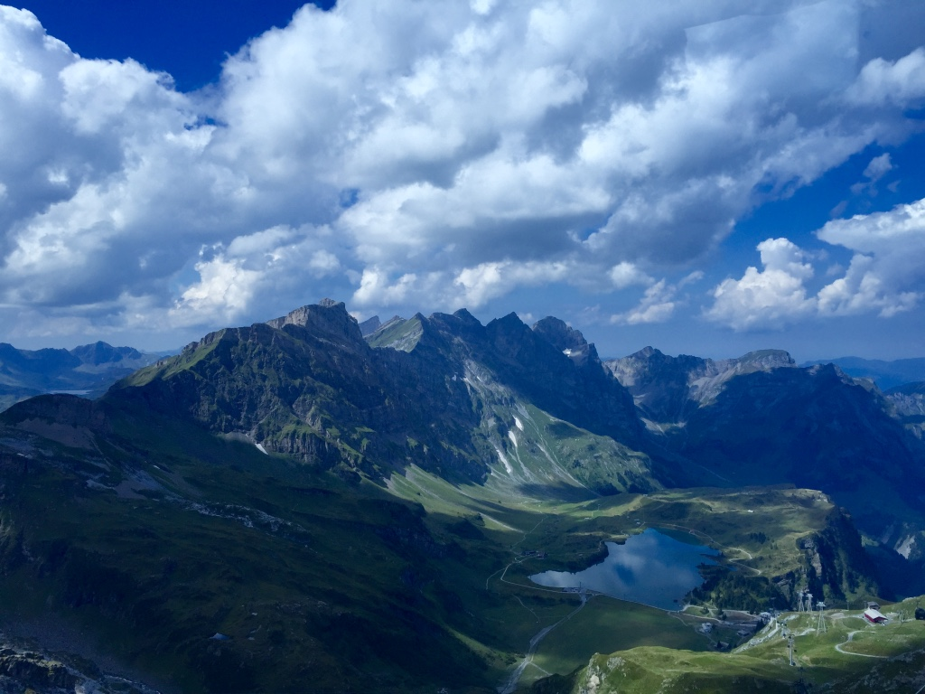 View from Mount Titlis