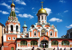 Kazan Cathedral- Moscow Red Square