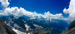 View from Mount Titlis, Switzerland