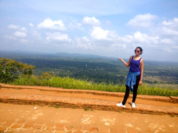 At the top of Lion Rock- Sigiriya