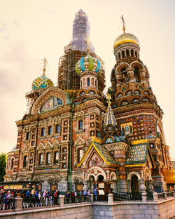 Church of the Savior- St Petersburg