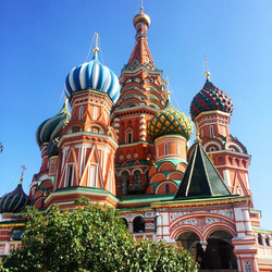 St Basil's Cathedral- Moscow