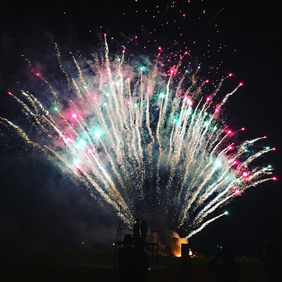 Fireworks at Lewes on 5th November