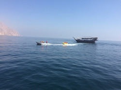 Banana ride- Musandam, Oman