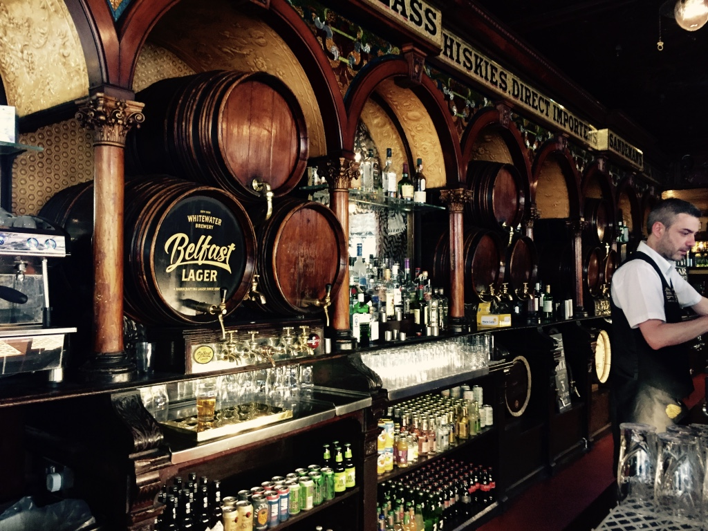 Crown Liquor Saloon Bar- Belfast
