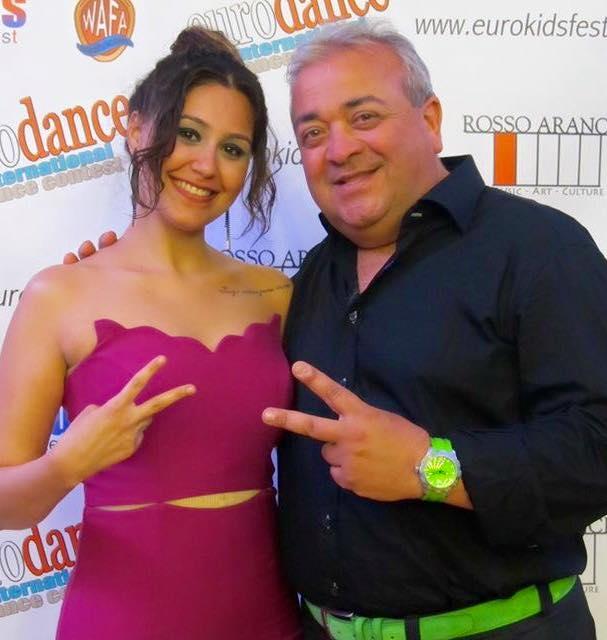 Vincenzo with Ezgi