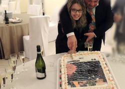 With Maria Grazia Aschei
