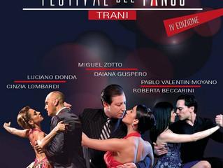 Trani capitale del tango dal 10 al 16 Luglio