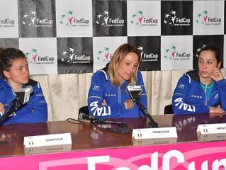 Fed cup tennis a Barletta sabato e domenica 22-23 Aprile