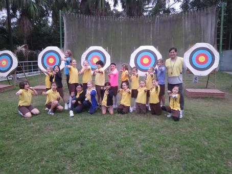 Sai Kung Brownies learn Archery