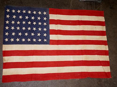48 Stars American Flag W W I I