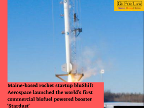 Stardust - World's first commercial biofuel powered booster
