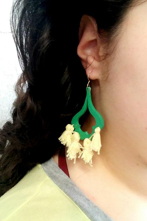 Hand Crafted Tassel Earrings