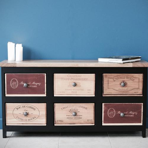 wine crate furniture. 3x2 Acier Wine Crate Furniture