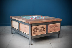 4x1 Acier games table