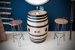 Custom drinks cabinet & ice bucket