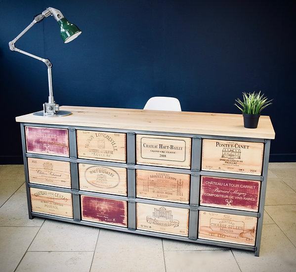Acier Desk (double fronted)