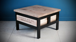 1x1 Acier coffee table